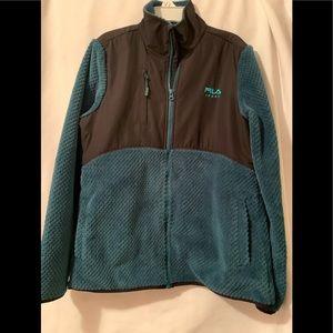 FILA Sport Two-Toned Fleece Jacket